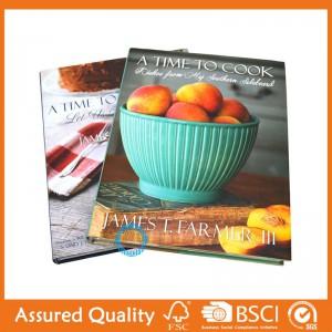 Manufactur standard Bulk Softcover Book Printing - cooking book – King Fu Printing