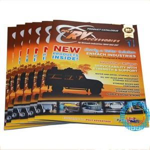 De catálogos y folletos