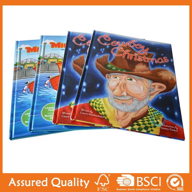 100% Original Cardboard Paper Book Printing - Hardcover children book – King Fu Printing