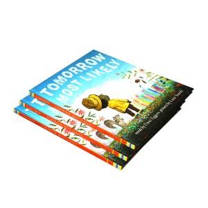 Big Discount Story Book Printing - King Fu high quality hot sale factory printing children story book printing and hardcover book printing supplier in Shenzhen – King Fu Printing