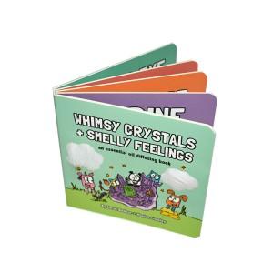 King Fu  USA  Book Printing High Quality Custom Children Board  Book Printing  Children Story Book Printed in Shenzhen