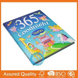 Hardcover uşaqlar kitab