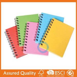 Factory Cheap Hot Children Sticker Book Printing - Spiral & Wire-O Bound book – King Fu Printing