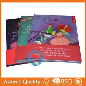 Factory best selling Custom Design Coloring Bulk Book Printing -  Hardcover children book – King Fu Printing