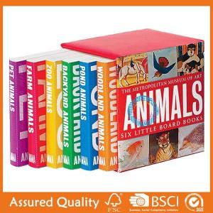 Wholesale Price Cardboard Book Printing -  Board Book – King Fu Printing